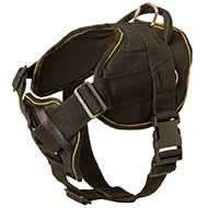 Nylon Riesenschnauzer Harness for Pulling Tracking Training