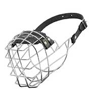 'The Silencer' Wire Cage Riesenschnauzer Muzzle With One Strap