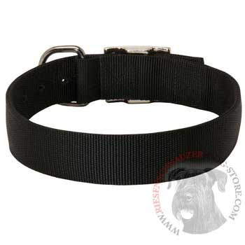 Nylon Collar for Riesenschnauzer Comfy Training
