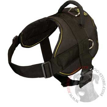 Nylon All Weather Riesenschnauzer Harness for Service Dogs