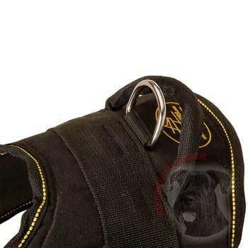 Heavy Duty Handle of Riesenschnauzer Harness
