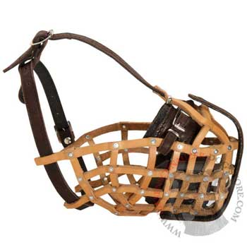 Basket Riesenschnauzer Muzzle for Military and Police Work