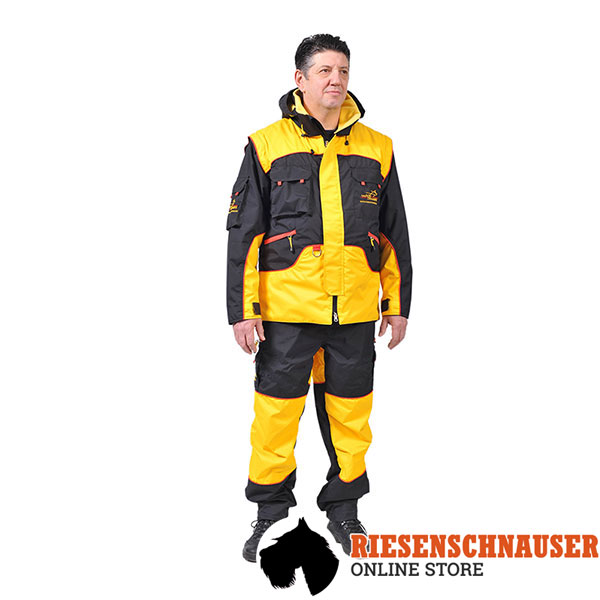 Professional Training Suit of Weatherproof Membrane Fabric